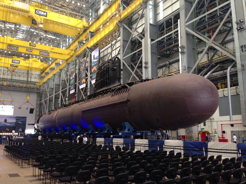 Marinha lança amanhã novo submarino brasileiro, o Riachuelo