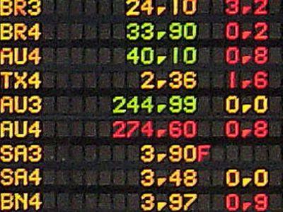 Ibovespa encerra em queda de -0,11% com Vale e Petrobras em baixa