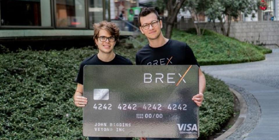 Brex, fintech fundada por brasileiros, obtêm investimento de US$ 100 mi
