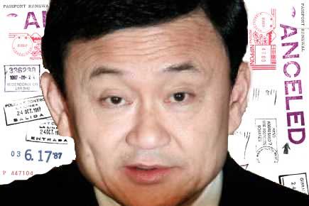Thaksin passeport