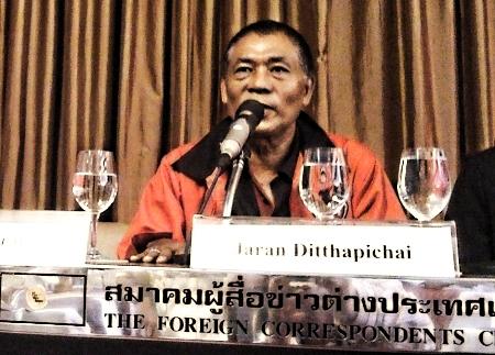 Press conference UDD at the FCCT Bangkok