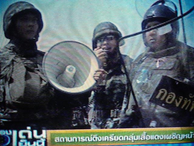 Thailande militaires