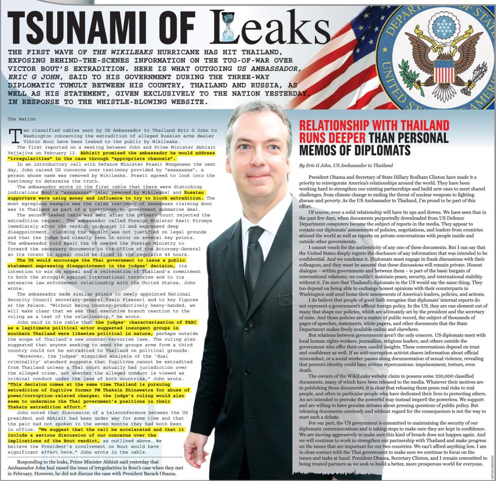 Nation cover story wikileaks