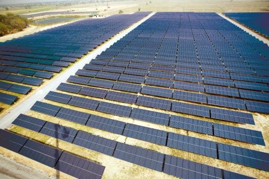 Installation solaire de Kyocera Thailande dans la région de Korat