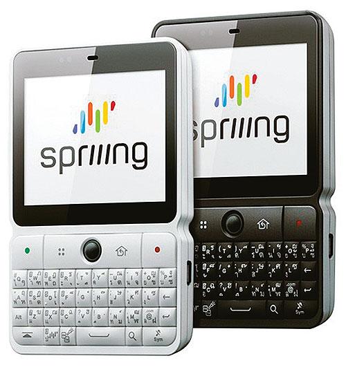 Spriiing smart phone thai