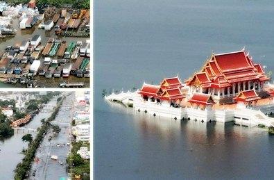 Les inondations généralisées en Thaïlande