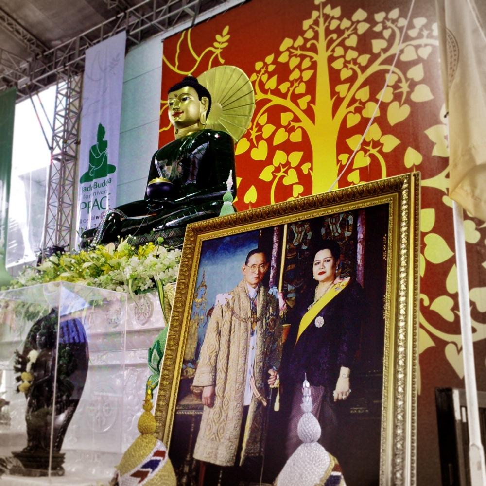 Le roi et Bouddha
