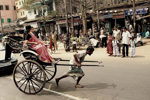 Inde Rickshaw