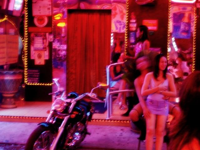 Bangkok quartier de prostitution