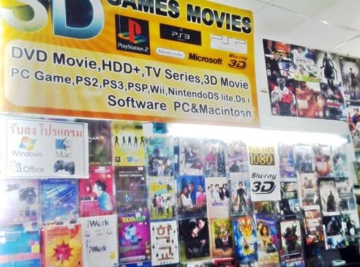 DVD et logiciels piratés