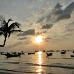 Coucher de soleil sur Koh Tao
