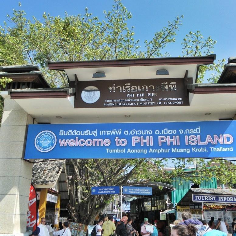 Koh Phi Phi accueille chaque jours des milliers de touristes