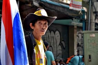 Élection du 2 février à Bangkok - Photo : Wilfried Devillers