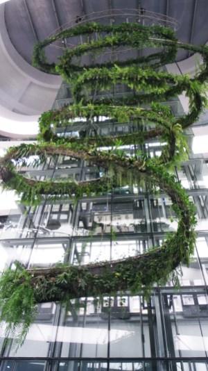 La coulée verte de EmQuartier, dernière réalisation du groupe Mall