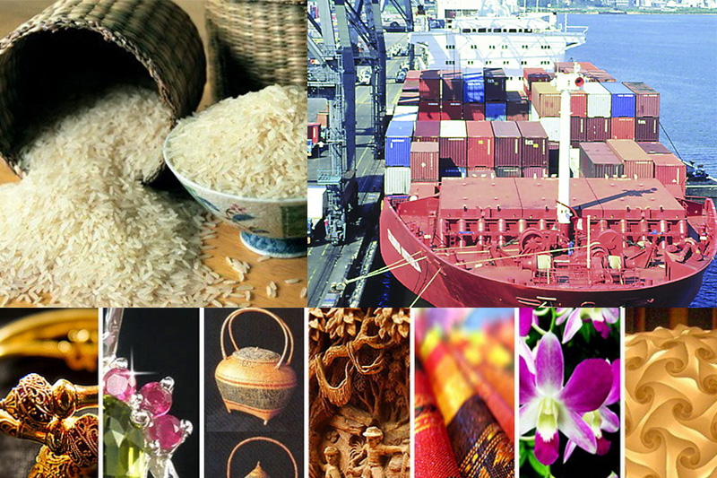 Exportation Thaïlande