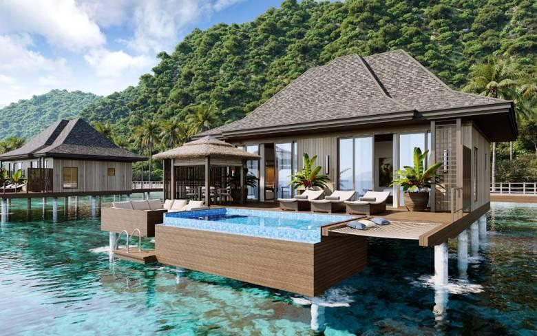 """Palawan, """"la plus belle île au monde"""" selon le magazine touristique """"Travel & Leisure""""."""