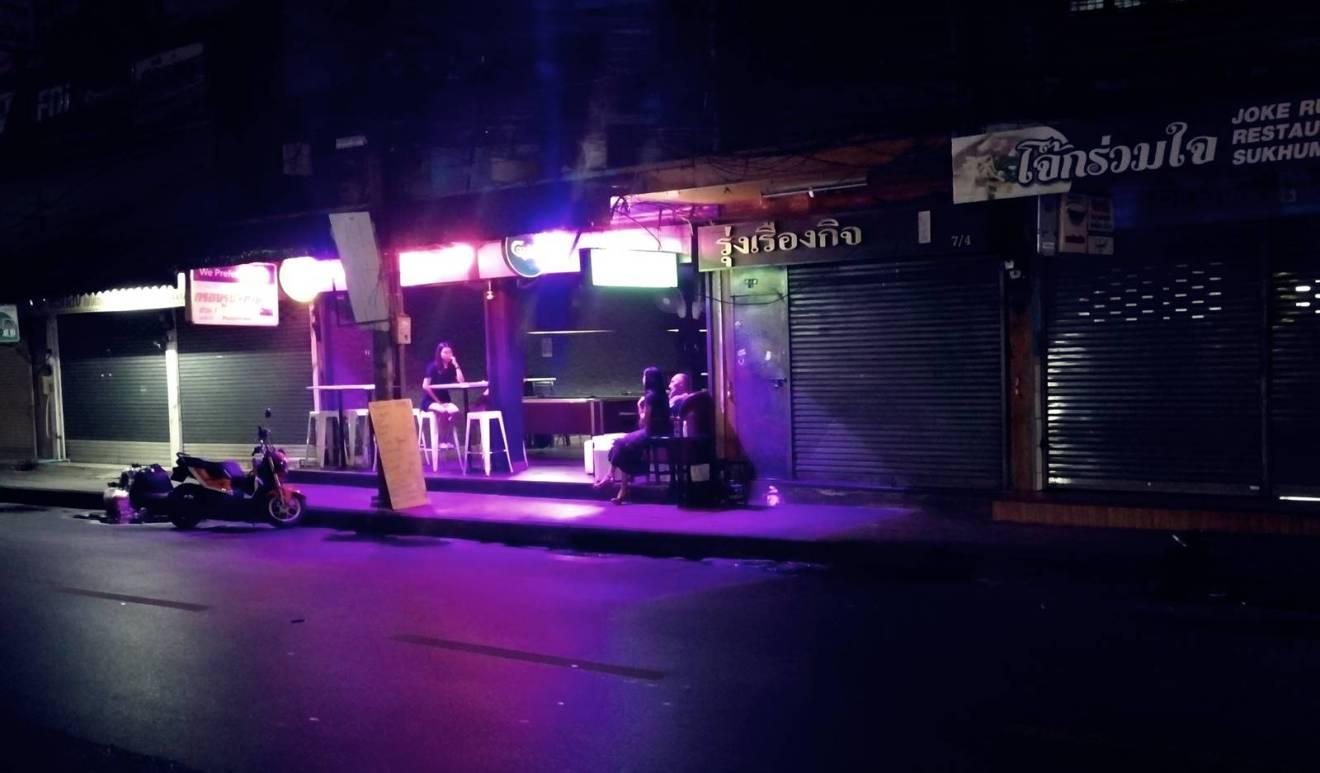 Bar Bangkok de nuit