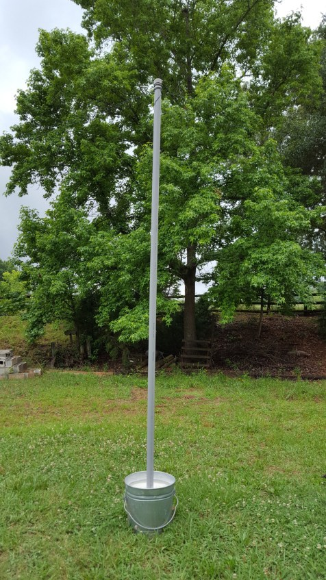 Mobile String Light Poles Easy Diy You Should Grow