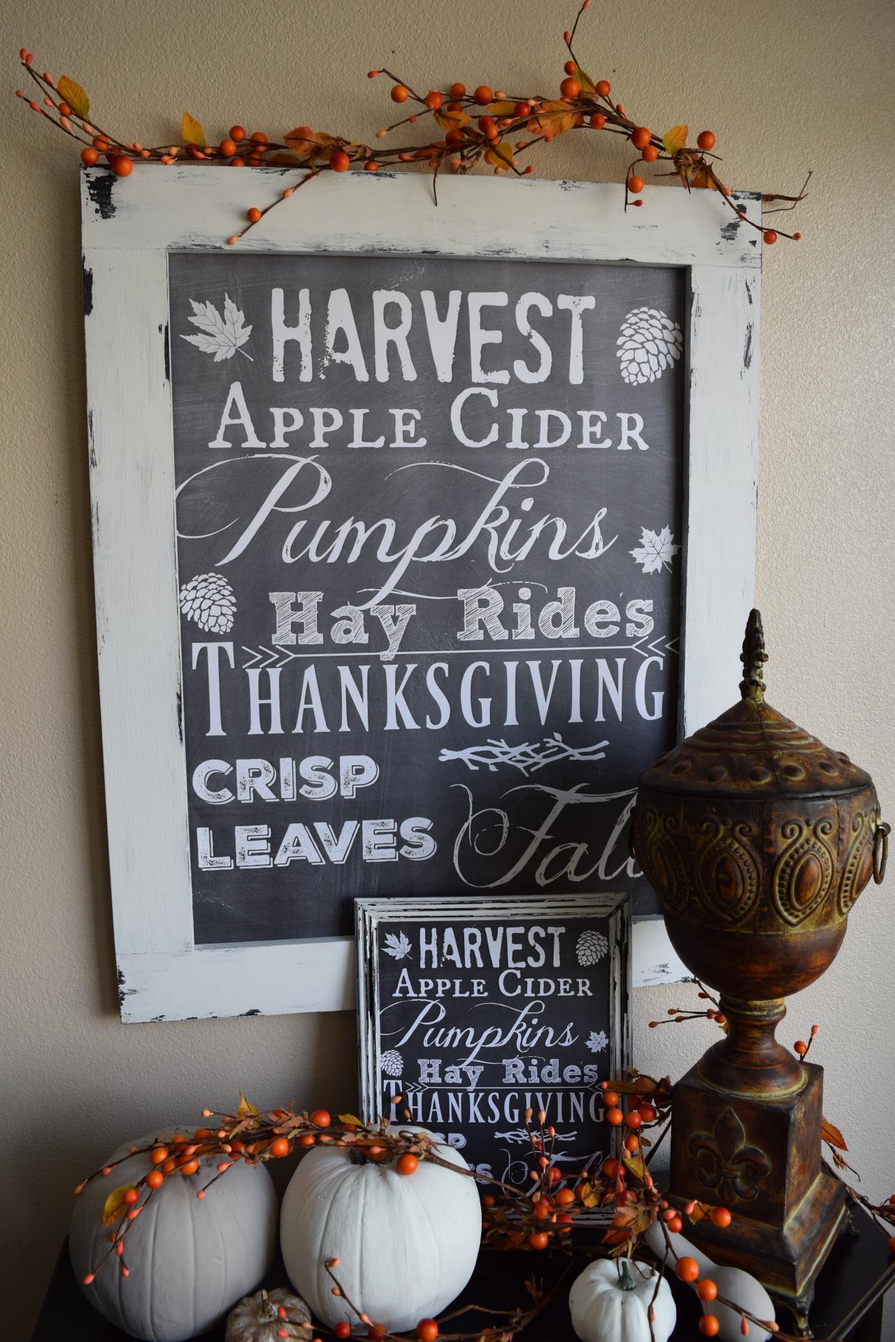 Fall sign/print