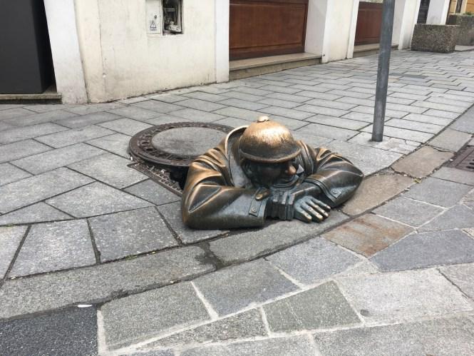 Famous-sculpture-in-Bratislava