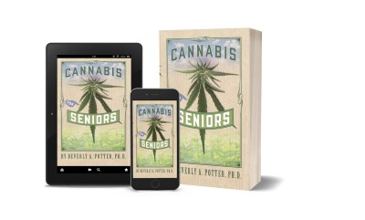 Cannabis for Seniors tablet, paperback, phone