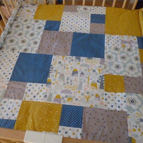 jeu tapis d eveil en patchwork
