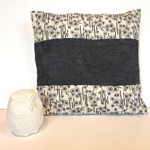 housse coussin japonaise patchwork