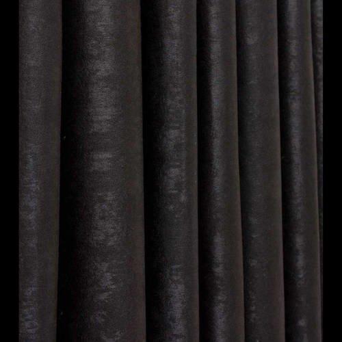 tissus en 280 cm de hauteur noir pour