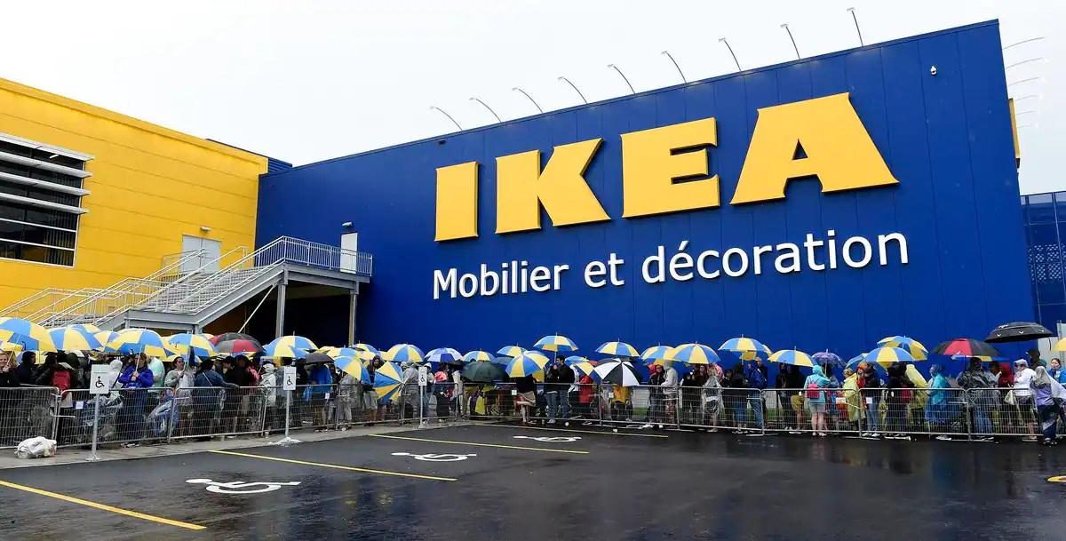 Photos Une Foule Monstre Pour Louverture Du Magasin Ikea Jdq
