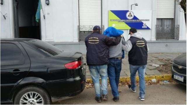 Mendezo fue detenido en Las Flores.