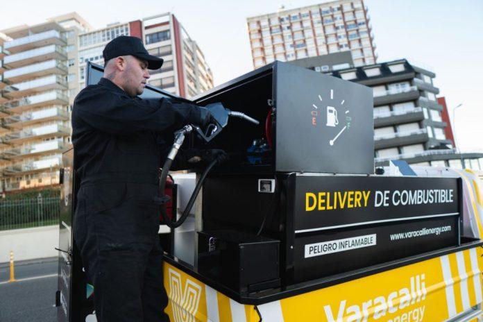 El primer delivery de combustible que funciona en el país es marplatense.