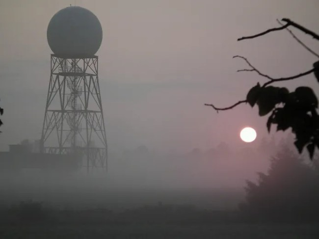 Environment Canada Exeter weather radar station. (JOHN MINER, The London Free Press)