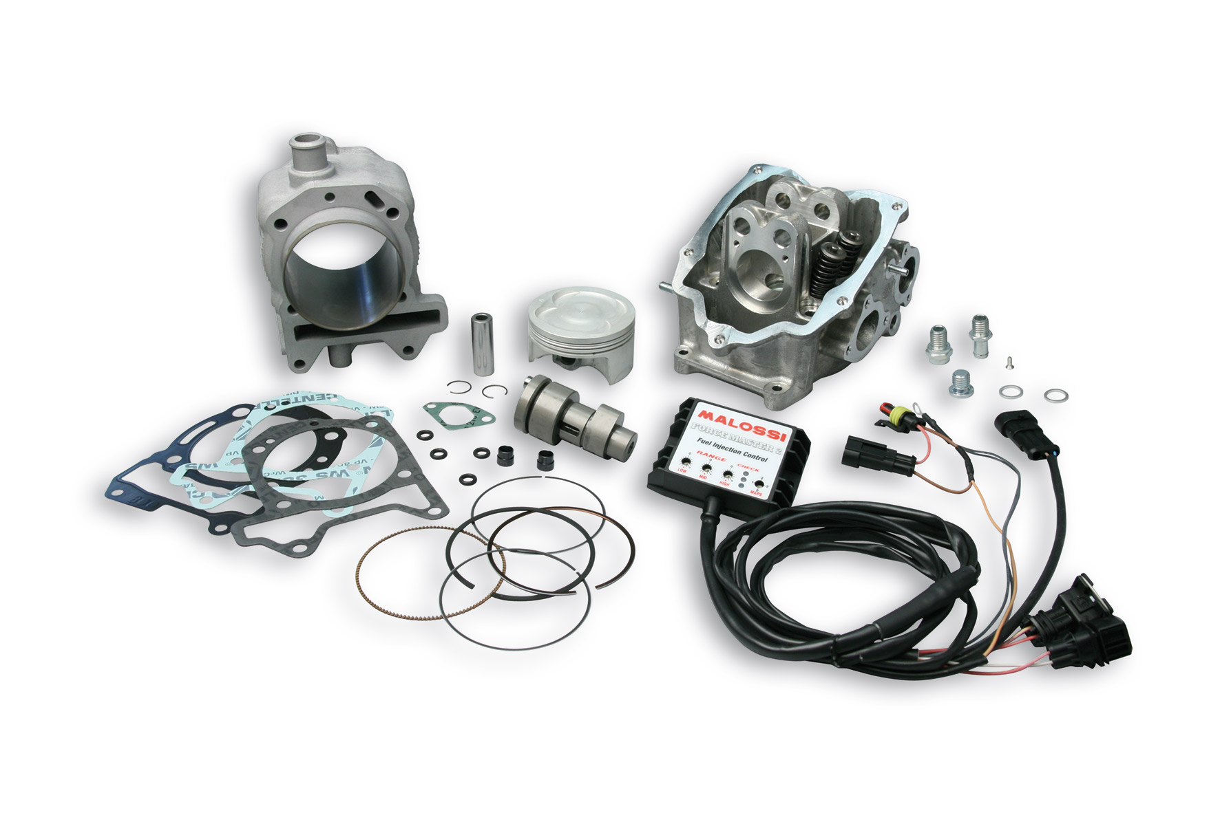 Alum Compl Cylinder Kit Power Cam 75 5 Pin 15 H2o 4 Stroke