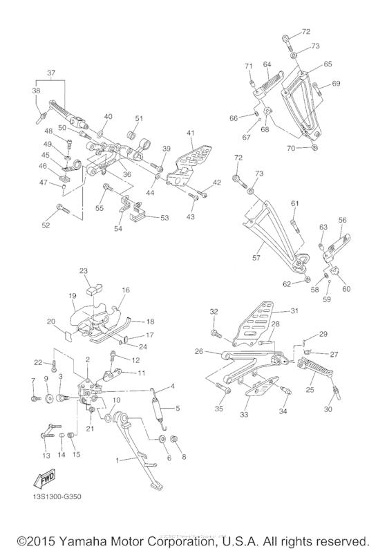 Подножки & Подставка для Yamaha YZF-R6/ YZF600 YZF-R6, год