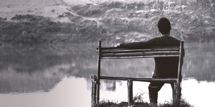 Download free photo of Alone,boy,alone boy,river side,sitting lonely - from  needpix.com