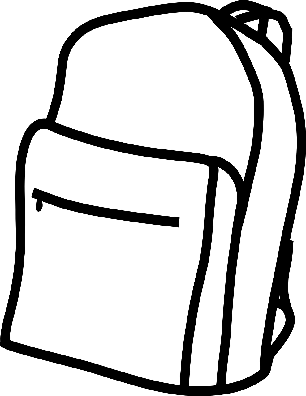 hight resolution of backpack clipart free