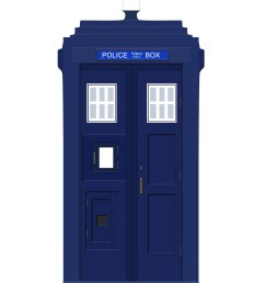 police box blue vintage free picture [ 1440 x 1920 Pixel ]