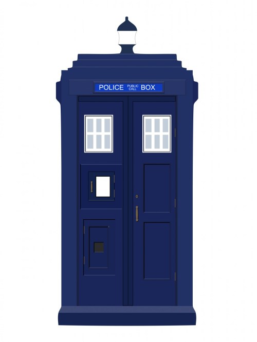 small resolution of police box blue vintage free picture