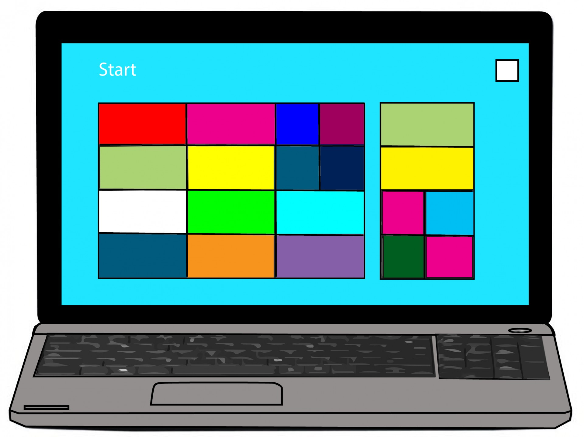 hight resolution of computer laptop clipart free picture
