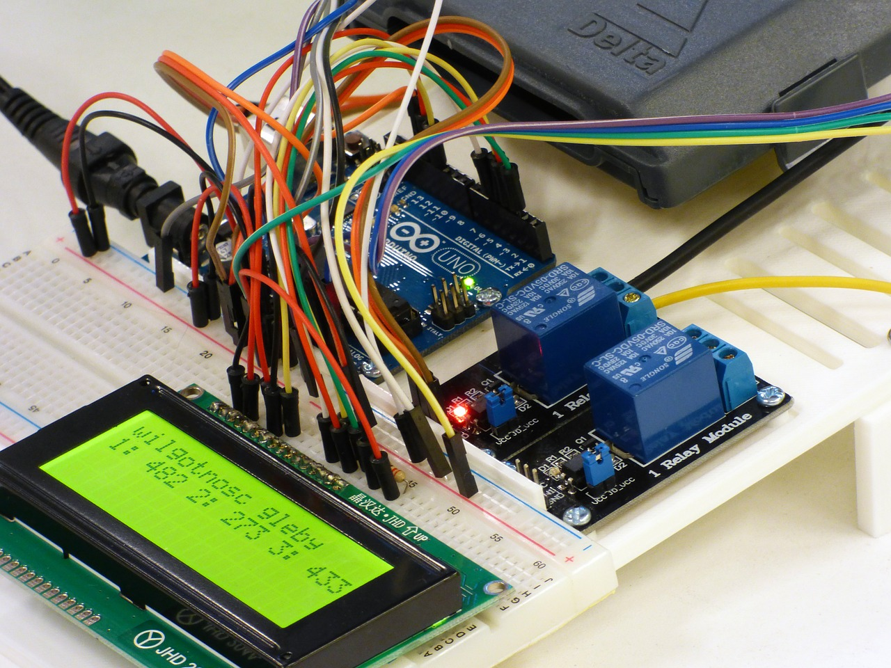 Integrated Circuit Computer Arduino Technology Robot