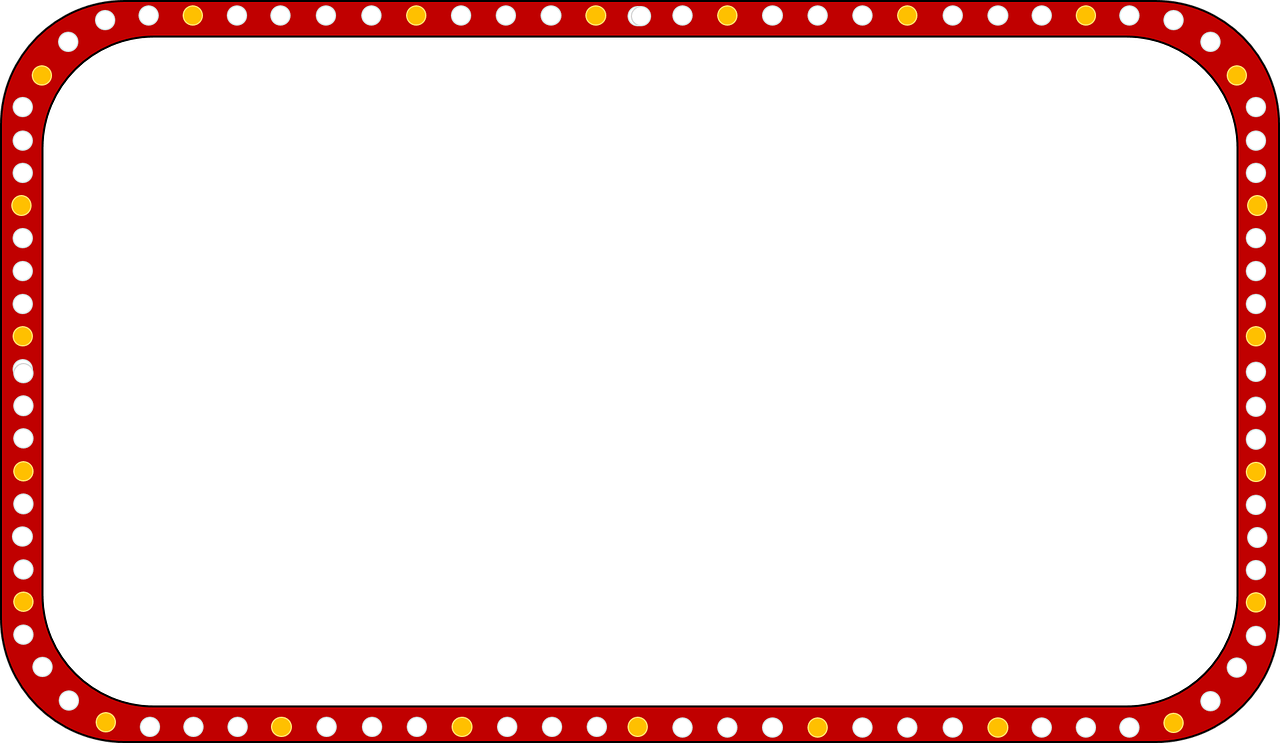 hight resolution of marquee sign clipart free picture