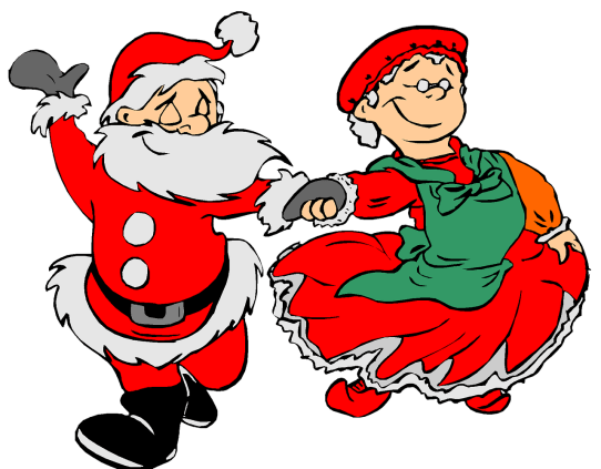 Image result for father christmas cartoon figures