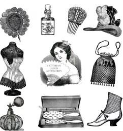 accessories vintage victorian free picture [ 1920 x 1920 Pixel ]