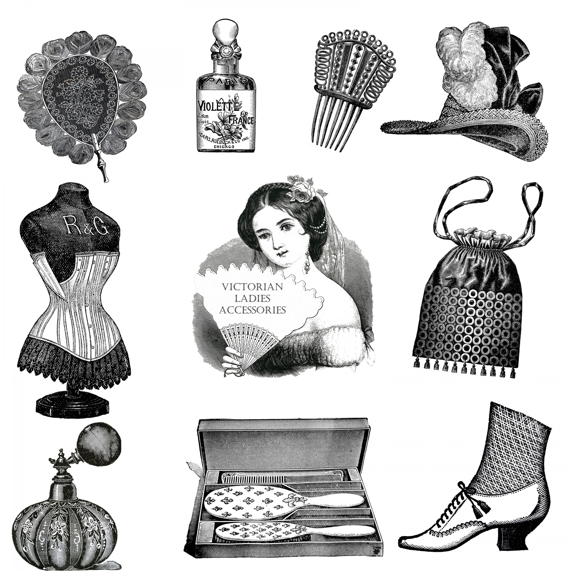 hight resolution of accessories vintage victorian free picture