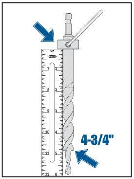 Kreg Jig Screw Chart : screw, chart, Depth, Guide, Owners', Community