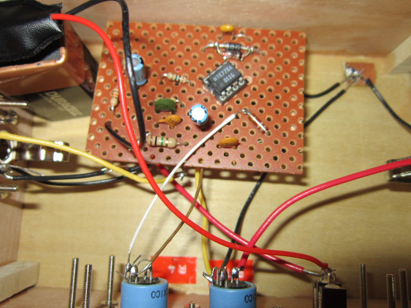 small resolution of  home made guitar amps cigar box nation lm cigar box amp wiring diagram on cigar