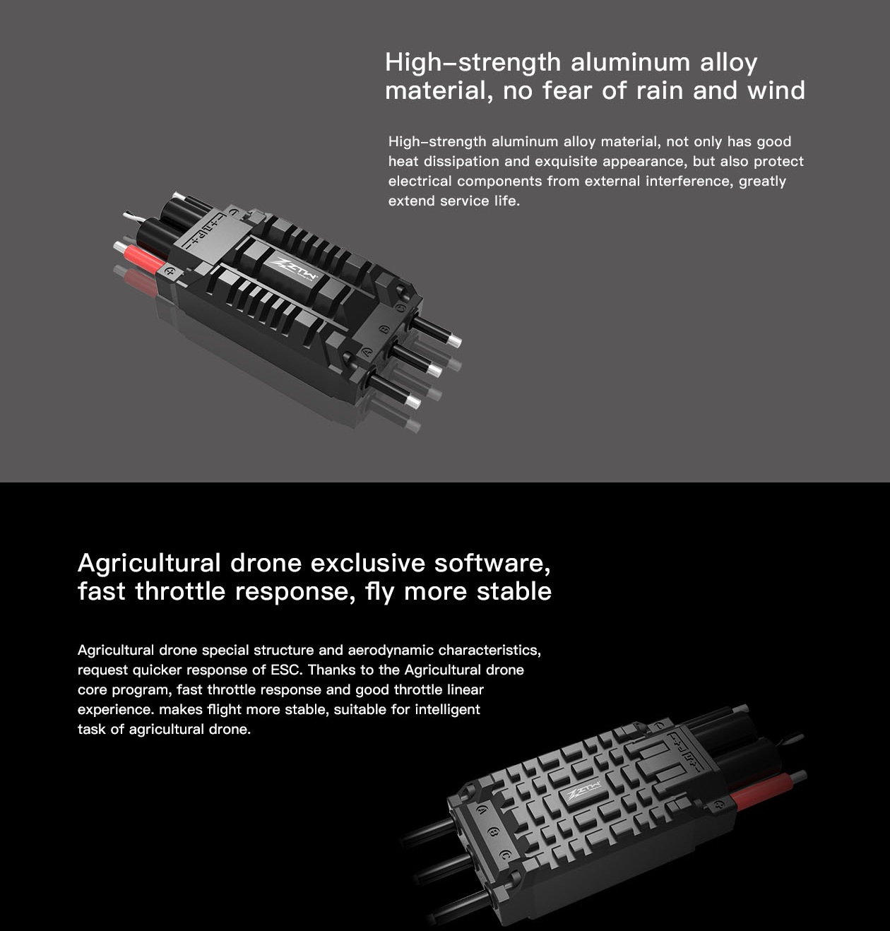 ztw agricultural drones electronic speed control esc for your agricultural drones diy drones [ 979 x 1024 Pixel ]