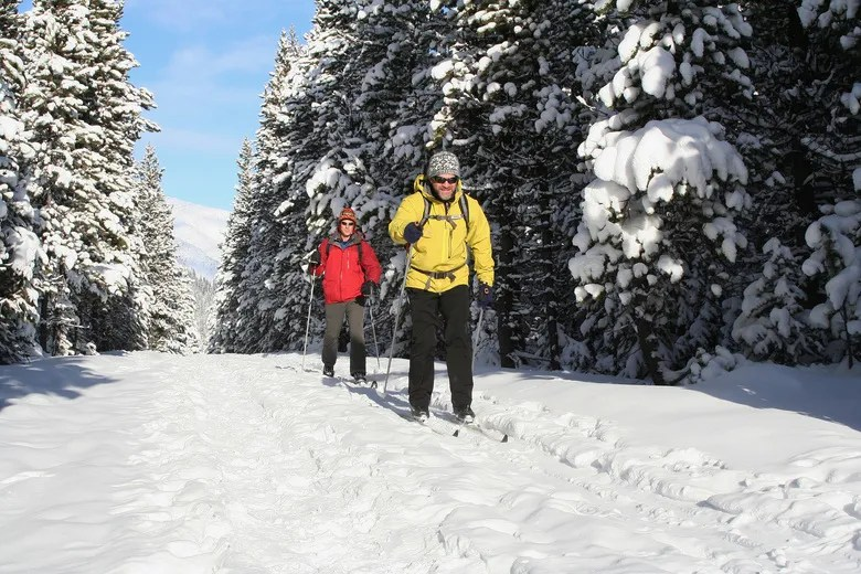 Cross-country skiing is one of the many winter activities that the snow covered paradise in southern Alberta offers its visitors. Waterton Lakes National Park is not just for summer time. | Contributed photo/Parks Canada