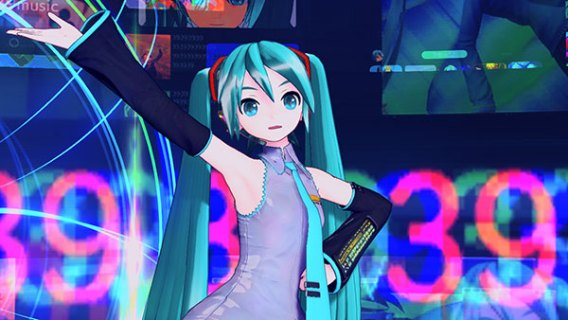 Screenshot 4: Hatsune Miku: Project DIVA MEGA39's
