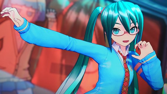 Screenshot 2: Hatsune Miku: Project DIVA MEGA39's
